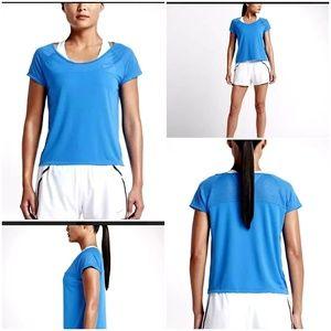 NWT Nike blue running shirt sz L